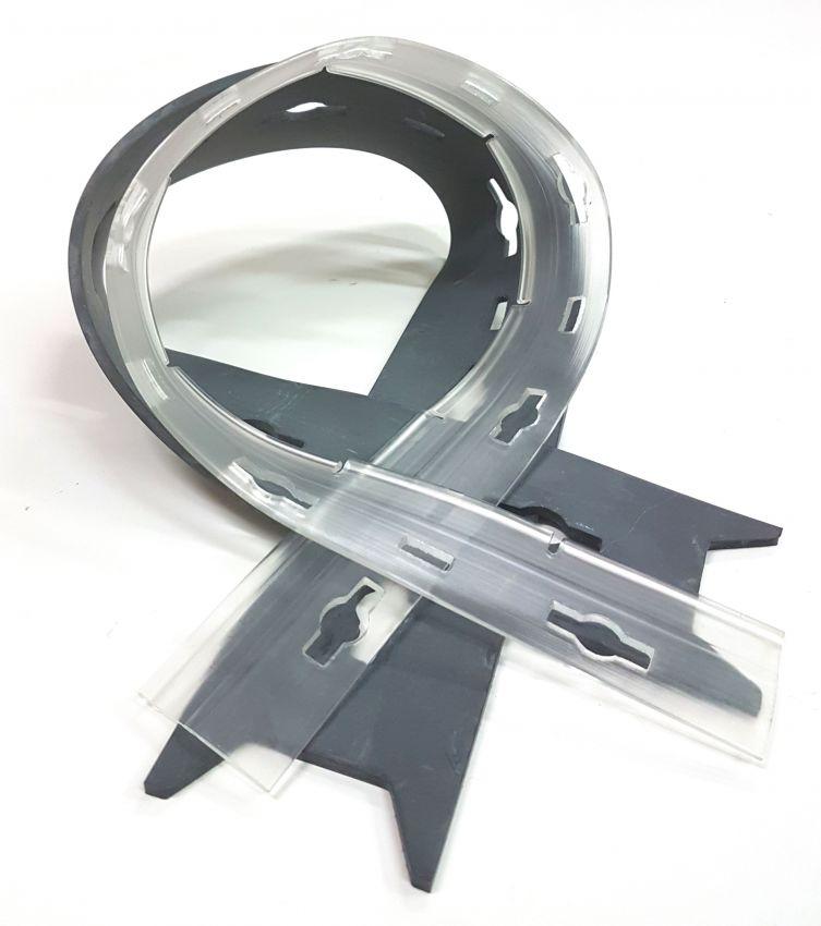 Комплект резинок сквиджа для поломоечной машины Antea/Innova 55B